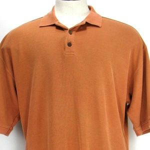 Tommy Bahama - Short Sleeve Polo Camp Shirt Sz XL